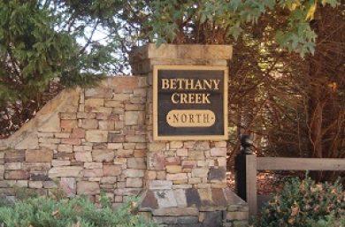 New Community: Bethany Creek HOA